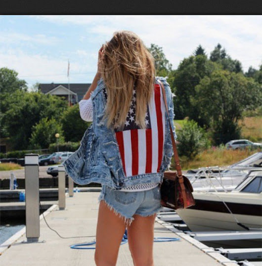36+ Amazing Outfit Ideas Women Summer For 4th Of July