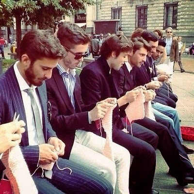 tejer, hombres, crochet, ganchillo, manualidades masculinas