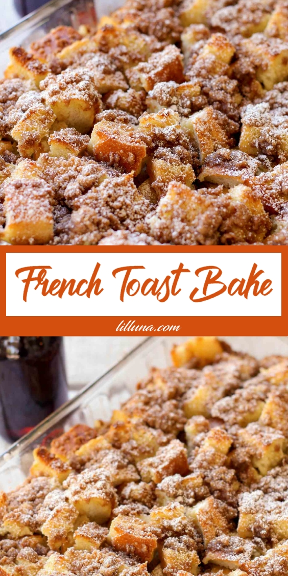 FRENCH TOAST BAKE RECIPES