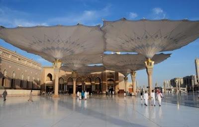 من هو مصمم مظلات المسجد النبوي