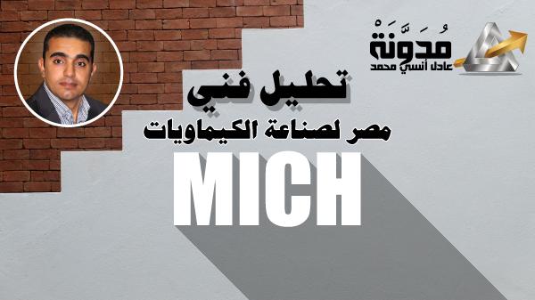 """تحليل فني لسهم مصر لصناعة الكيماويات """"MICH"""""""