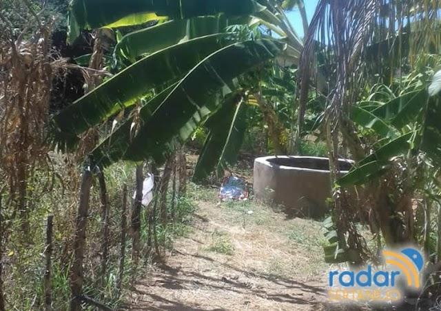 LAMENTÁVEL! Mulher morre após cair em cacimbão na zona rural de Cajazeiras