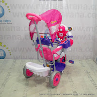Family F845FT Robot Suspension Double Music Tricycle