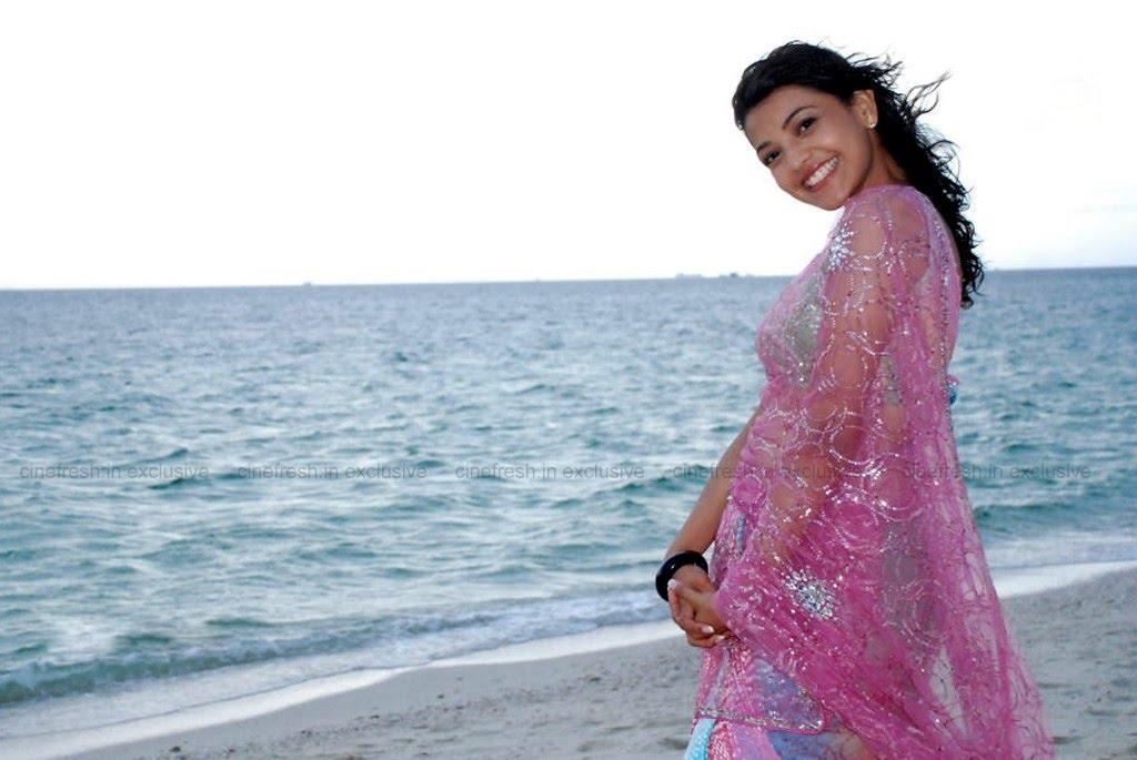Telugu Actress Jyothi In Blue Salwar: Telugu Actress Kajal Agarwal Hot Sexy Singham Maatraan