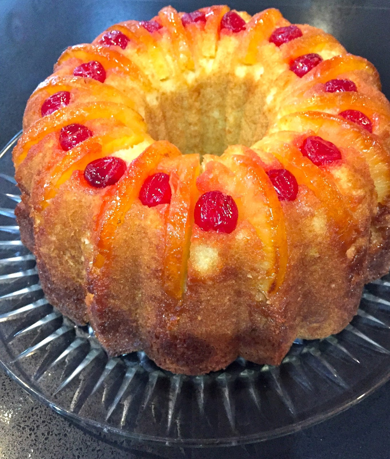 Orange Pineapple Bundt Cake