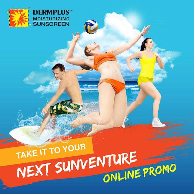 Contest Alert! SUNVENTURE WITH DERMPLUS SUNSCREEN