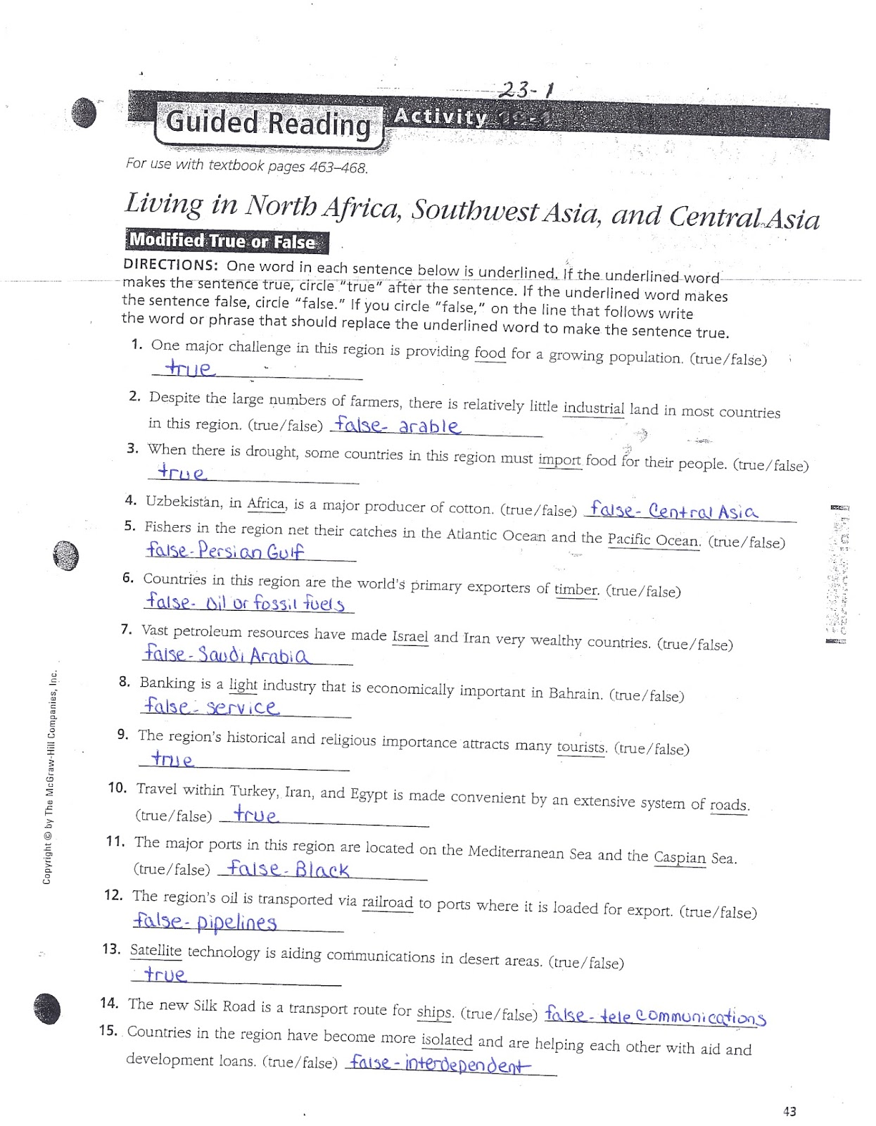 Mr E S World Geography Page World Geography