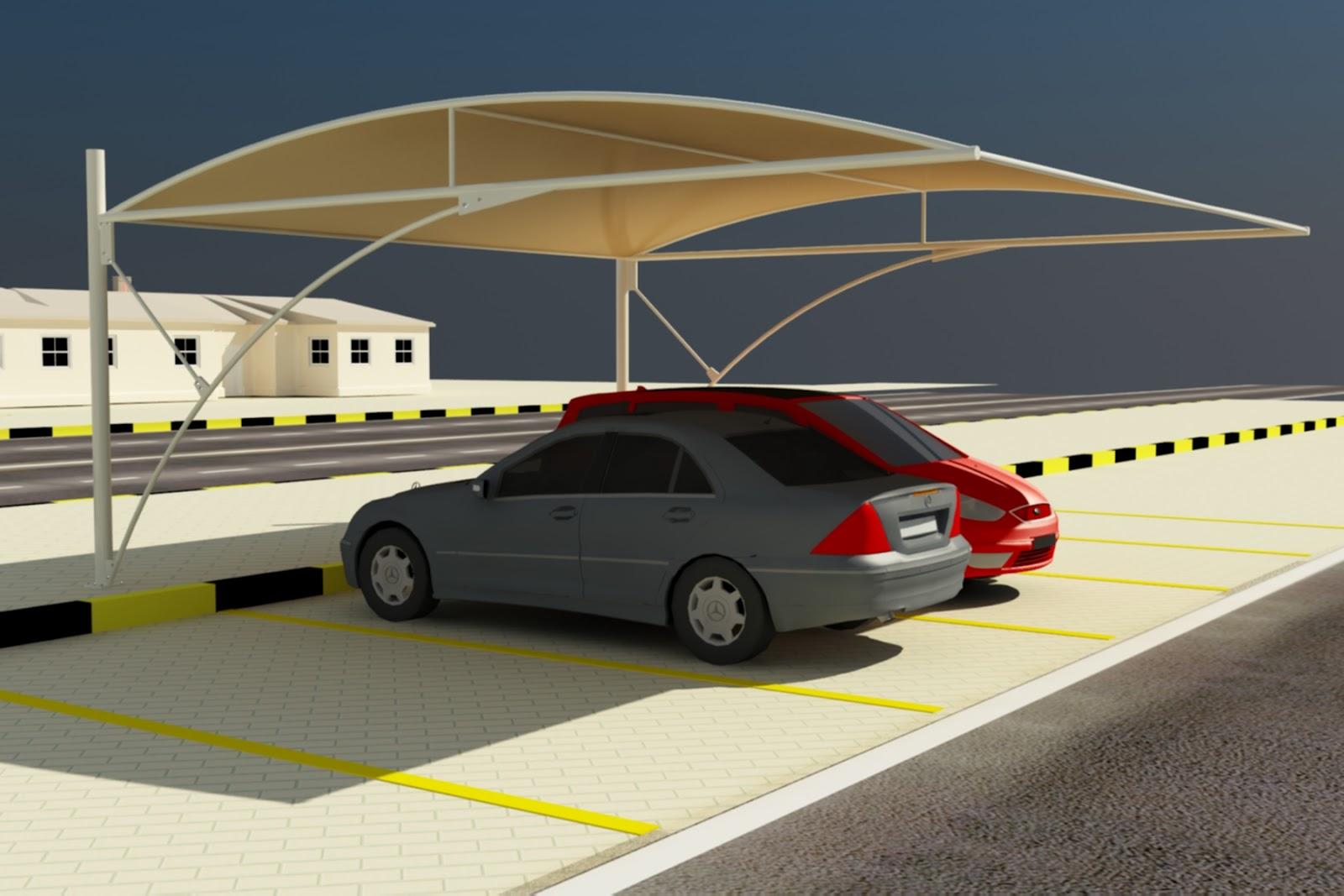 Car Parking Shades Design