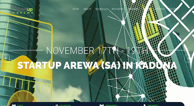 STARTUP AREWA IS HERE; GET A CHANCE TO PITCH YOUR IDEA