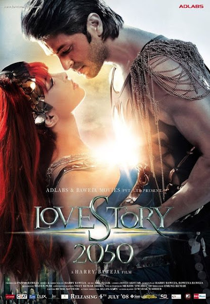 Poster Of Love Story 2050 (2008) Hindi 720p DVDRip Full Movie Download