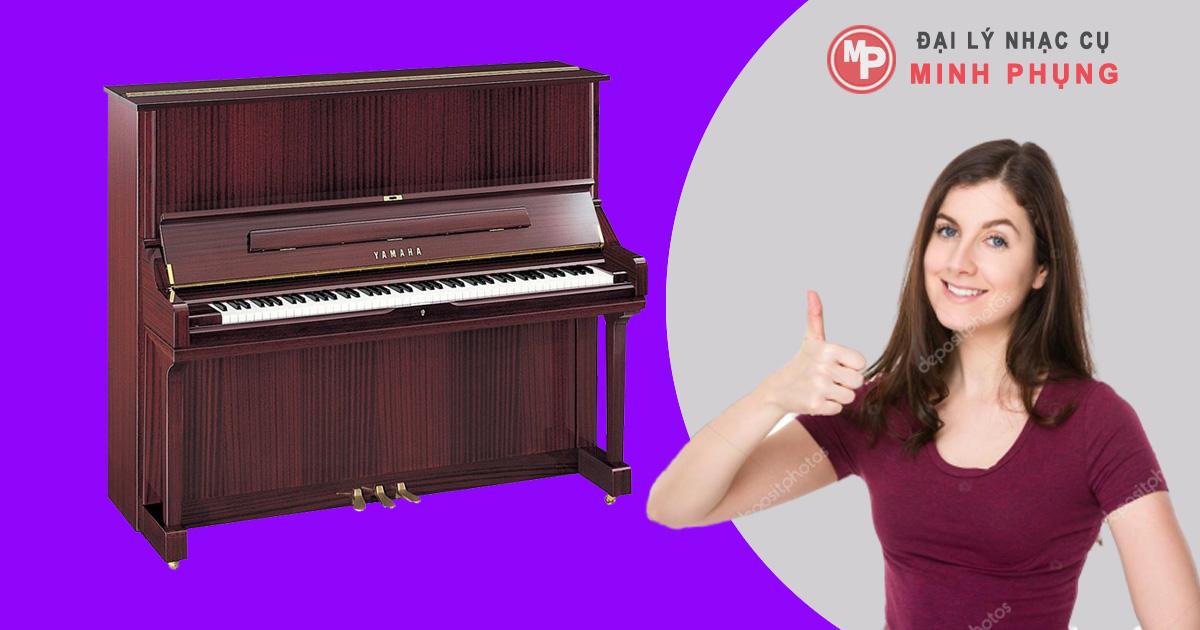 Đàn Piano Yamaha U3 PE giá rẻ | Piano đứng sản xuất tại Nhật Bản
