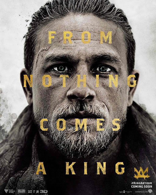 King Arthur: Legend of the Sword Charlie Hunnam Poster