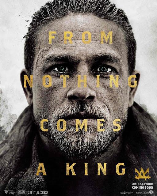 King Arthur: Legend of the Sword Charlie Hunnam Poster