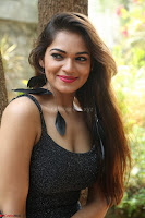 Aswini in lovely Deep Neck Sleeveless Black Dress Spicy Pics ~  Exclusive 06.JPG