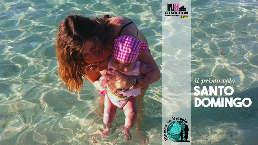 Santo Domingo a cinque mesi: il primo volo di Amy