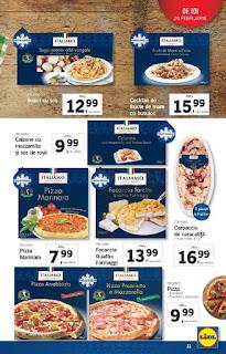 CATALOGUL LIDL 25 februarie - 3 martie 2019 oferta pizza italiana