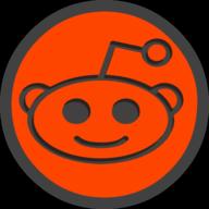 reddit icon outline