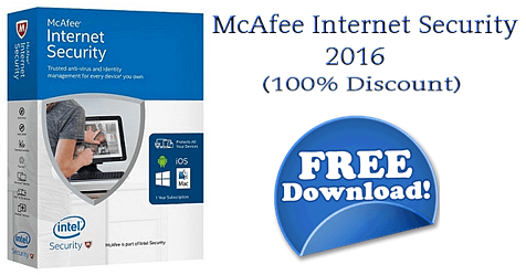 Δωρεάν McAfee Internet Security 2016