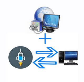 cara menggunakan proxifier untuk Hotspot internet gratis tanpa root