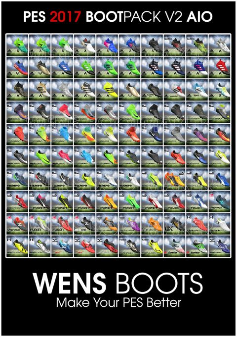PES 2017 WENS BootPack v2 AIO