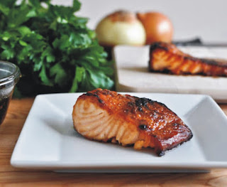 Cheddars Bourbon Glazed Salmon Recipe with Easy Steps