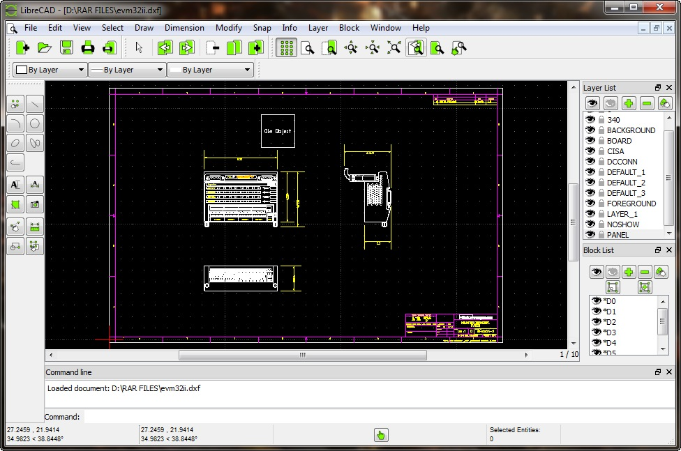 librecad templates download - librecad 3