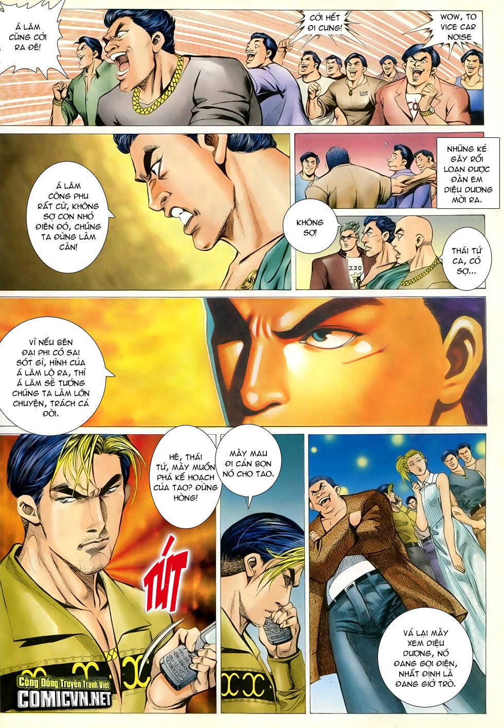 Người Trong Giang Hồ chapter 294 trang 11