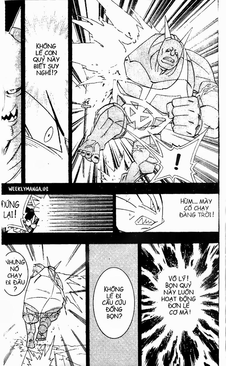 Shaman King [Vua pháp thuật] chap 173 trang 9