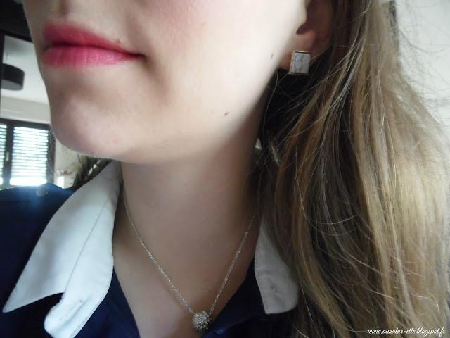 boucle d'oreille marbre la fée qui frippe - my pocket make up