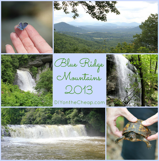 Our trip to the Blue Ridge Mountains via DIYontheCheap.com