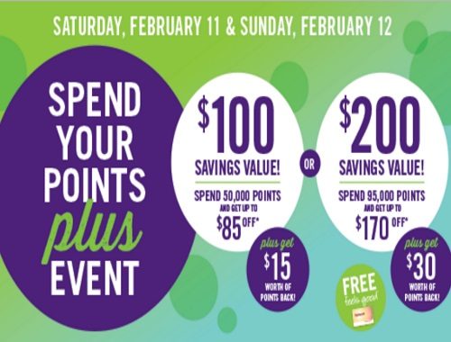 Shoppers Drug Mart Spend Your Points Plus Event