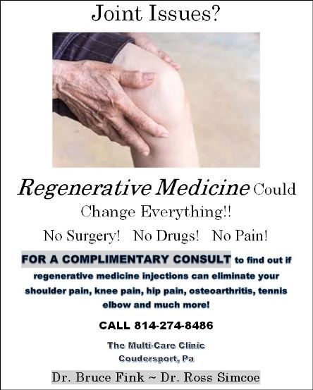 Regenerative Medicine At Coudersport Multi-Care Clinic