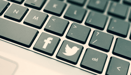 keyboard Combination Shortcuts for Facebook and Twitter
