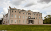 Saltram House, where Austen stayed when she wrote parts of Pride & Prejudice