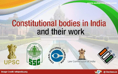 Role and Function of Constitutional Bodies in India