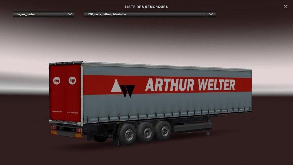 Arthur Welter Profiliner Trailer