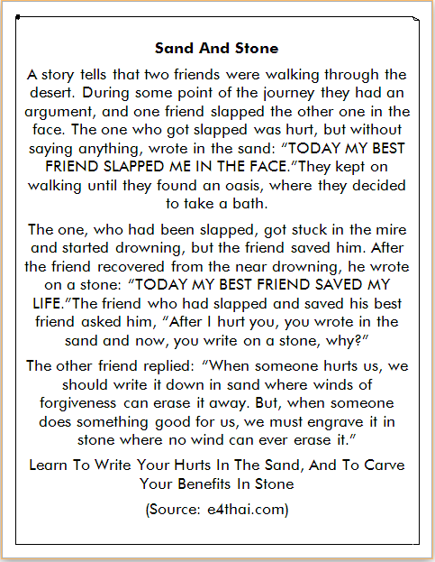 Cerita Bahasa Inggris Sahabat