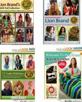 Free Crochet And Knitting Ebooks To Download From Lion Brand And Red