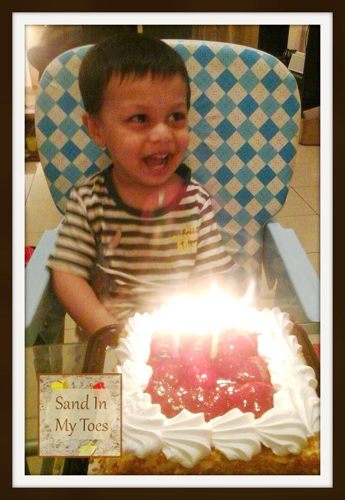 Celebrating the big boy