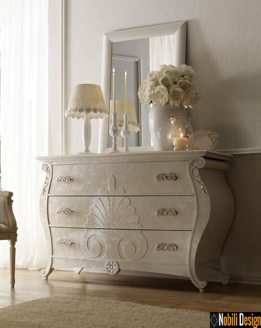Mobila italiana stil clasic de lux - Mobila dormitor Italia