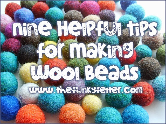 Helpful Tips for Making Wood Beads by The Funky Felter
