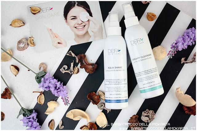 creamy cleanser aqua shake bifasico bio latte detergente skin care bio cosmesi vegan