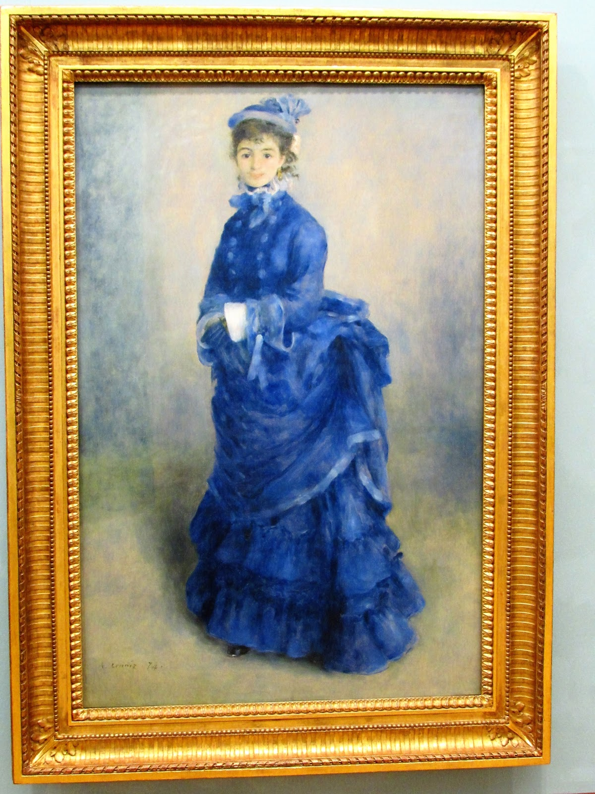Image result for cardiff museum Blue Lady