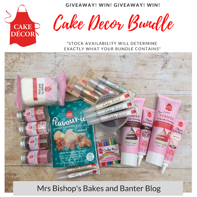 Cake Decor Bundle Giveaway from Mrs Bishop's Bakes and Banter