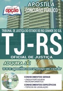 Apostila TJ-RS Oficial de Justiça - Vídeo Aula GRÁTIS
