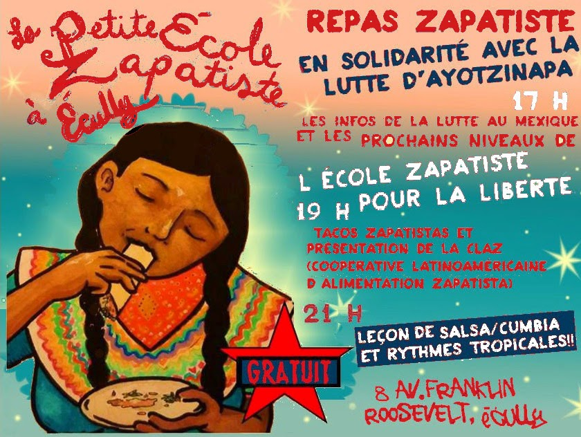 zapatiste mexique Ecully