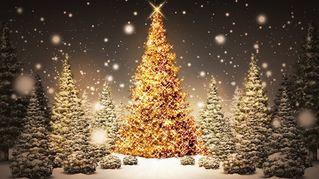 Merry Christmas Tree Wallpaper Animated 2015