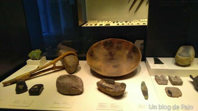 Objetos Museo arqueológico Nacional Madrid