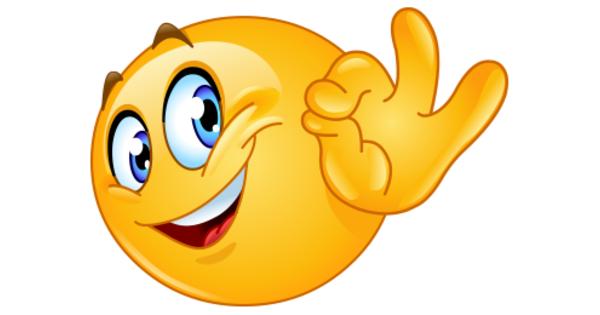 A-Ok Smiley | Symbols & Emoticons