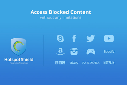 Download Aplikasi Hotspot Shield VPN Proxy Untuk Android